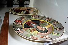 2 Royal Doulton display plates