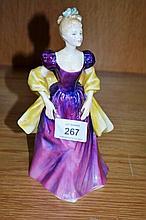 Royal Doulton figurine - 'Loretta', HN2337