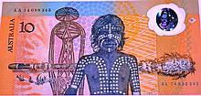 Commemorative Australian $10 polymer note,