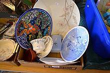 Royal Albert Memory Lane cup and saucer, wall
