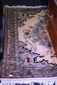 A good, hand woven Persian carpet, Tabriz, pale