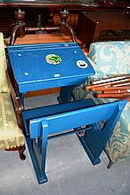 Vintage child's school desk, single size with lift