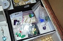 Large qty of various unset stones incl. aquaquartz