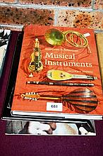 Two music related books incl. 'Musical Instruments