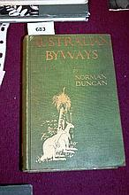 Book: 'Australian Byways', by Norman Duncan with