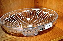 Large Waterford cut crystal fruit bowl, 30.5 cm