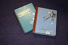 2 large stamp albums containing large number of