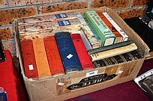 A box of vintage books to include various Ian