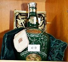 Boxed sealed bottle of 'Chivas Royal Salute', 21