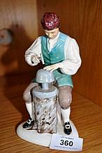 Royal Doulton figurine 'The silversmith of