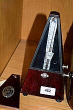 Vintage German made metronome, clockwork