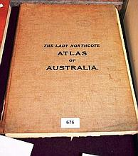 Book: 'The Lady Northcote Atlas of Australia'