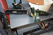 An Ozito electric chainsaw, working order