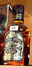 1.5 litre bottle of 'Chivas Regal' scotch whisky,
