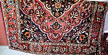 Persian fine quality hand woven pure wool rug,