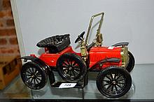 English made vintage model car, a copy of an