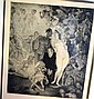 Norman Lindsay limited edition facsimile etching