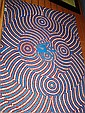 Guy Simon Jagamarra, Aboriginal dot painting on