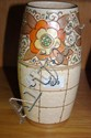 A Charlotte Rhead English studio pottery vase with