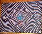 Gary Simon Jagamarra aboriginal dot painting on