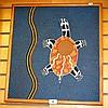 K Stewart, acrylic on panel, Aboriginal dot