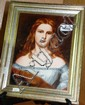 RPM German porcelain plaque depicting Wilhelmine