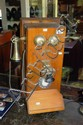 Vintage Western Electric Company timber cased wall