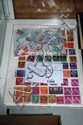 Folder containing a large collection of USA stamps