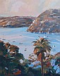 Antonio Duarte oil on board, 'Pearl Bay', signed