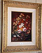 F. Szabo oil on board 'Nature's Best' signed lower