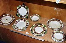 Part collection of Myott dinner ware 'Englands