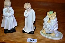 Collection to include 2 x Royal Doulton figurines,
