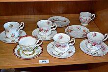 Small collection to include 5 x Royal Albert