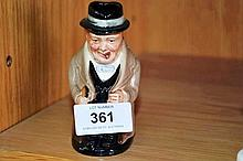 Royal Doulton, Winston Churchill Toby jug