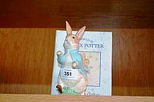 Royal Albert Beatrix Potter figurine 'Peter