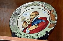 Royal Doulton series plate, 'Don Quixote & Sancho