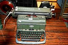 Vintage Halda Swedish typewriter