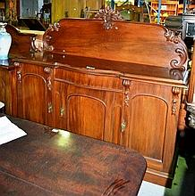 Grand antique colonial Australian cedar sideboard