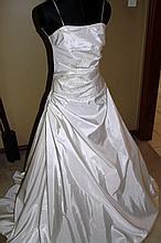 Wedding Dress. Brand new with tags, Cream silk dress,