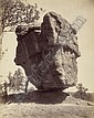 Jackson, William Henry: Garden of the Gods, Balance Rock