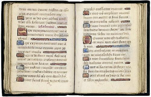 Horae B.M.V.: Flämisches livre d'H. Lat. Hs. auf
