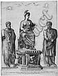 Beatrizet, Nicolas: Allegorie der triumphierenden Roma