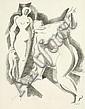 Archipenko, Alexander: Zwei weibliche Akte