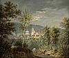 Deutsch: um 1810/20. Blick auf Coburg mit St. Moritz und Schloss Ehrenburg