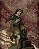 Florentinisch: 17. Jh. Pilger mit Jakobsmuschel