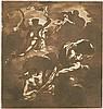 Italienisch: Ende 17. Jh. Allegorische Darstellung mit Chronos und Aurora