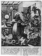 Tempesta, Antonio: Der hl. Antonius und die Dämonen