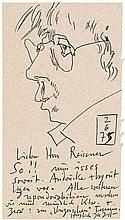 Janssen, Horst: Selbst am 2.6.75