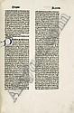 Leonardus de Utino: Sermones aurei de sanctis. Nbg. Koberg. 1478