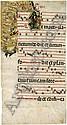 Spanische Handschrift: Einzelblatt aus einem Messbuch. 17. Jahrhundert